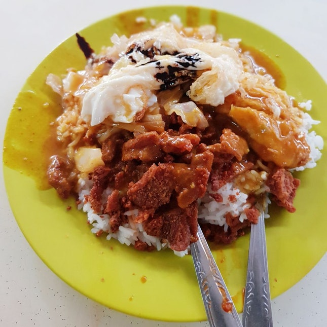 Hainanese Curry Rice ($4.50)