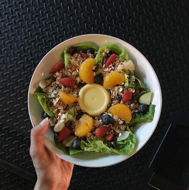 Happy Kelly Salad (RM18)