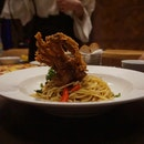 Soft Shell Crab Pasta