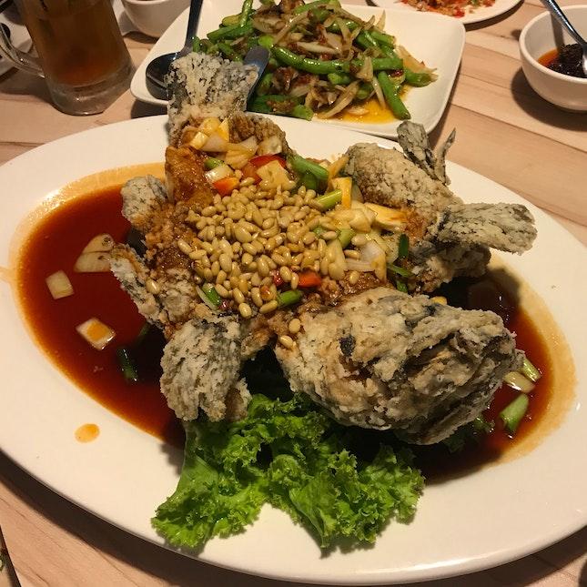 Sweet & Sour Grouper Fish