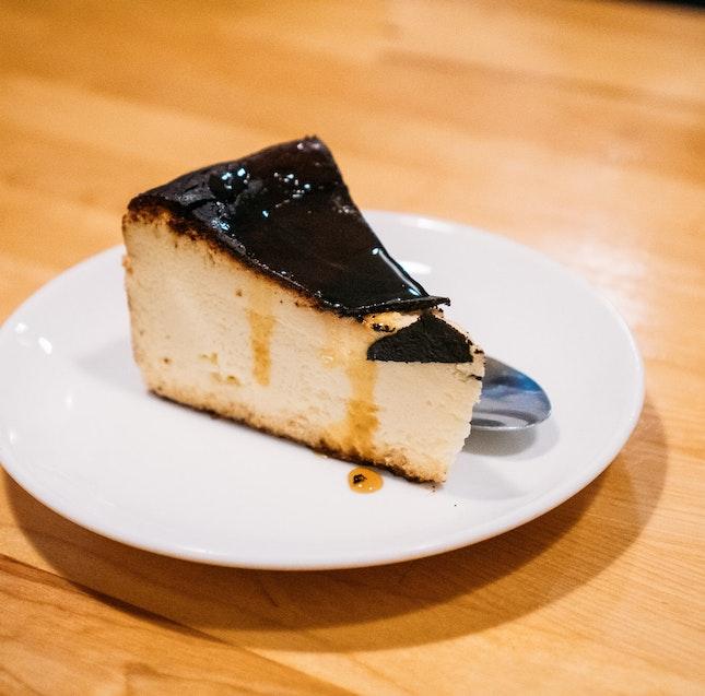 Basque Burnt Cheesecake (RM12)