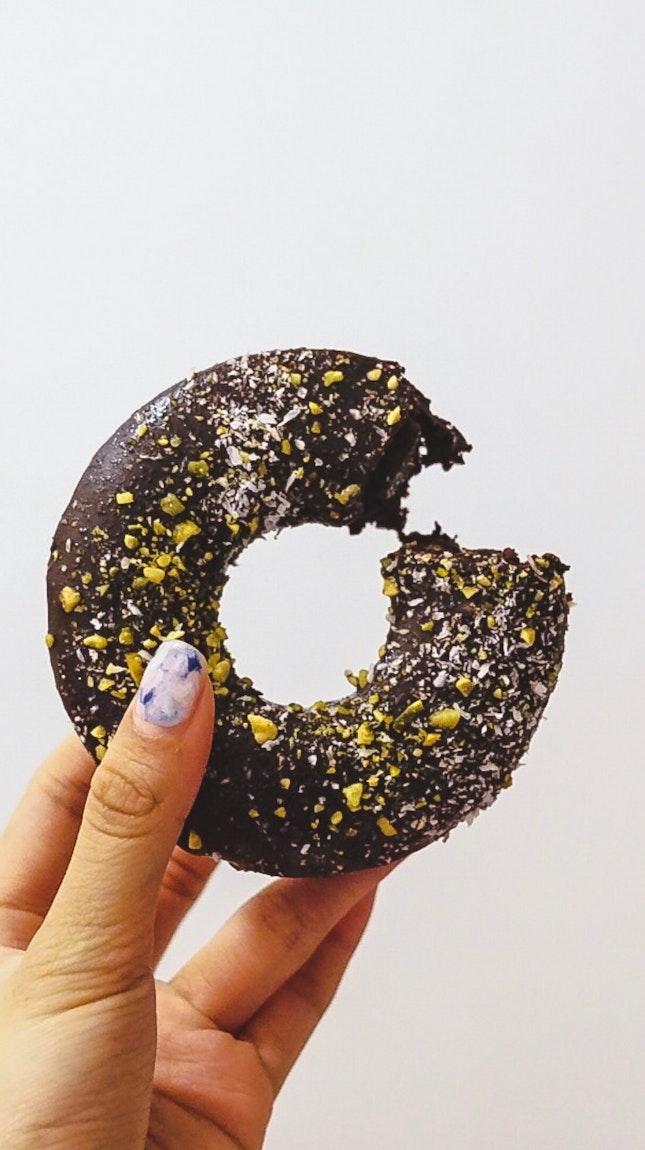 Baked Chocolate Donut (RM14.90)