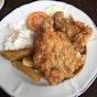 IT Roo Cafe best chicken chop in JB