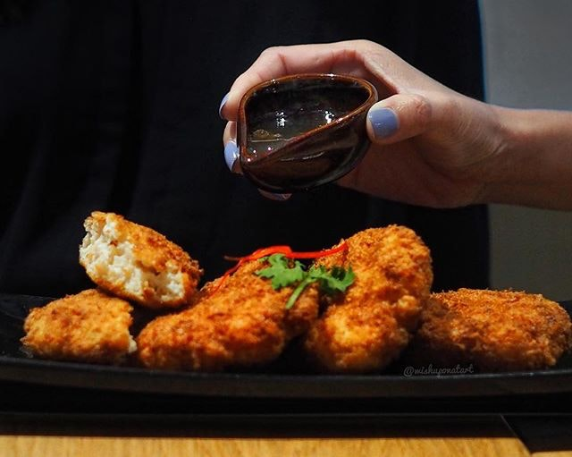Not your typical finger food.