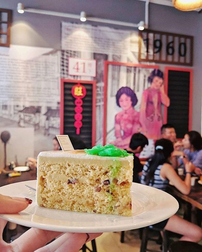Chendol Cake #090818  #localize #fluffyunicorn🦄 #2018❤️ #cafehoppingsg #burpple #burpplesg #latergram