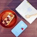 Waguri Millefeuille 😋 #afternoontea #cakesarelove #fluffyunicorn🦄 #2018❤️ #cbd #duxton #burpple #igsg #igsgfoodies #whati8today