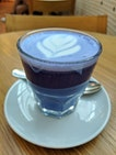 Blue Pea Latte