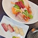 Missing Sushi & Sashimi 😋 .