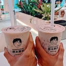 One of my Favorite Yogurt Drink with Black Glutinous 🥰🥰🥰 .