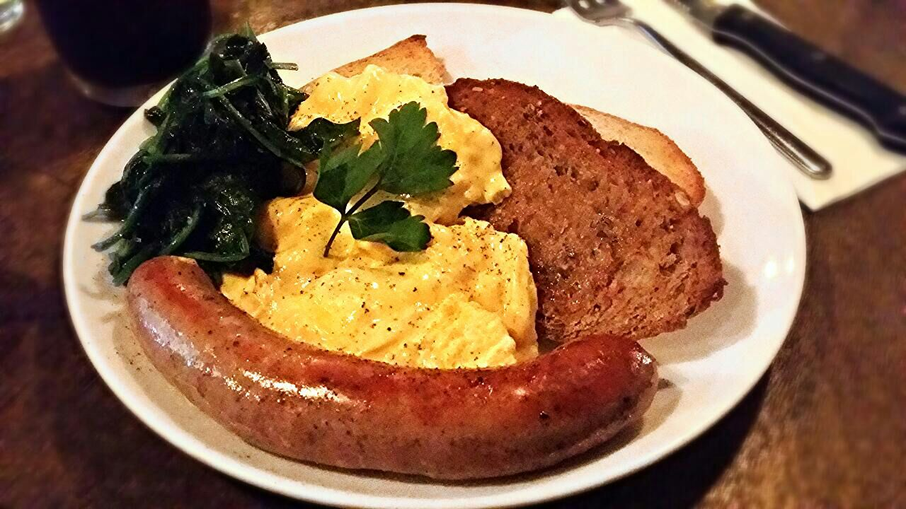 Scrambled Eggs With Toast ($19.50 With Add-ons)