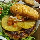 Chicken with Pineapple Burger ($12.90)