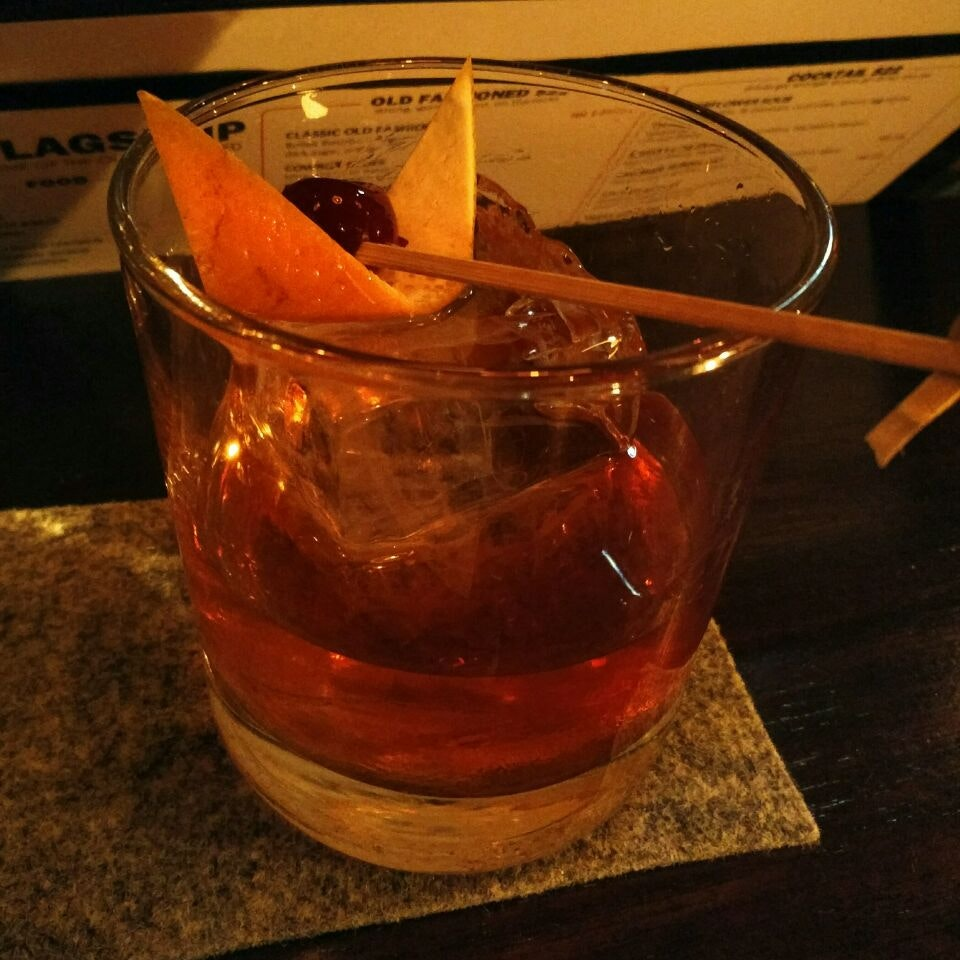 The Old Fashioned ($22++)