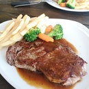 Wagyu MBS 4/5 Ribeye 200g ($28.90 1 for 1 with #burpplebeyond)