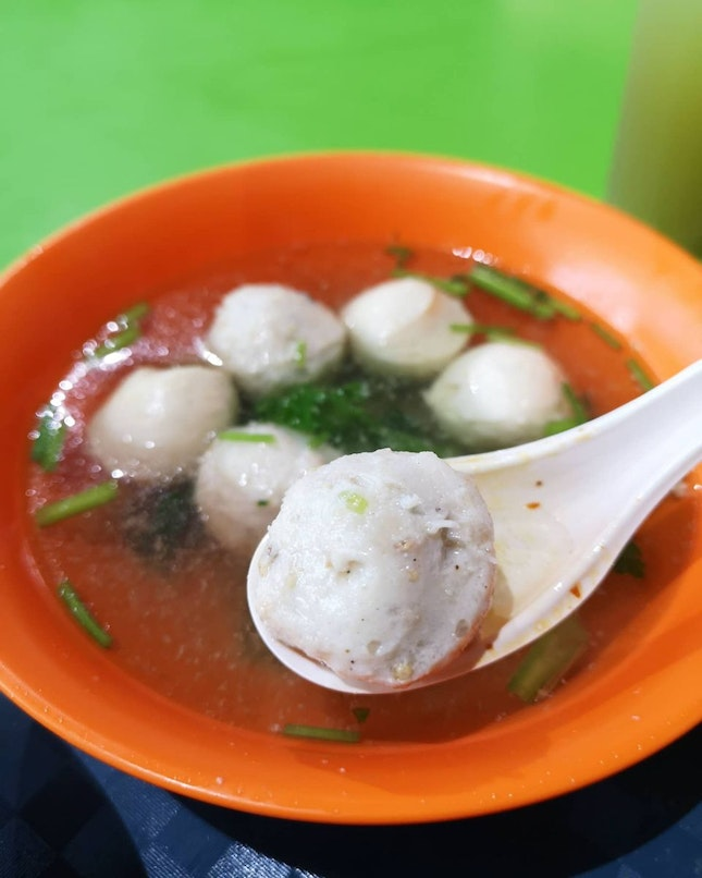 One Of The Bestest Fishball Noodles I've Had!