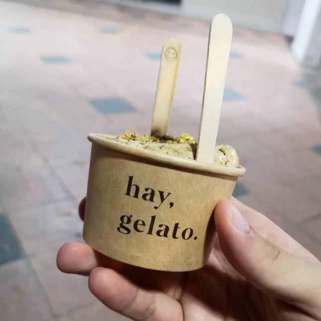 One Of The Best Pistachio Ice Cream I've Had!