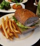 Matcha Mayo Wholemeal Walnut Sandwich [$10.00] .