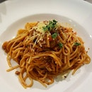 Student Happy Hour Lunch Deals every Mon-Fri 1.30 to 5pm Spaghetti Bolognese $5.50 and Aglio Olio $6.50 (+freeflow pepsi/rootbeer/mirinda orange) Good and flavorful pasta at affordable price with free flow drinks and wifi!
