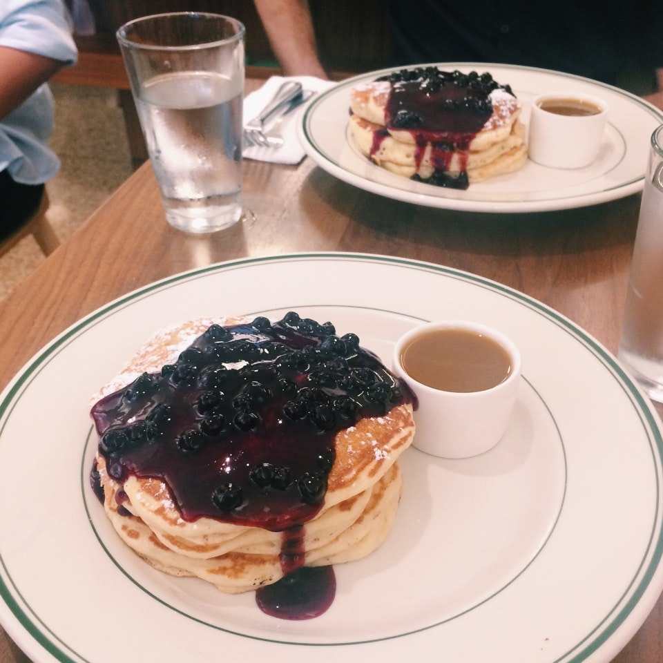 Simply Delicious Blueberry Pancakes ($18++)
