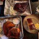 Pork Ribs ($28), Nashville Chicken ($24), Cornbread ($4)