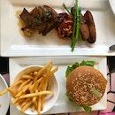 Beyond Burger & King Oyster Mushroom
