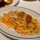 Spaghetti In Sea Urchin Cream Sauce