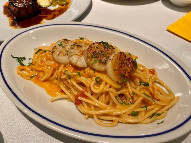 Spaghetti In Sea Urchin Cream Sauce