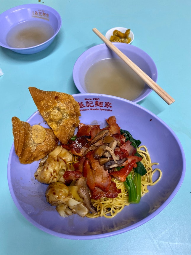 Charsiew Wanton Noodles ($4.50)