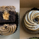 Black Sesame Miso Caramel Cupcake - April Special