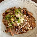 Chocolate Pappardelle ($24)