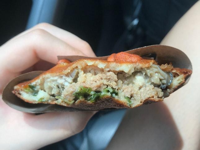 Fuzhou Oyster Cake ($2)