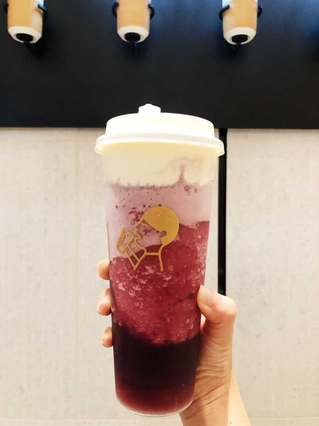 Very Grape Cheezo (less sugar) ($9.50)