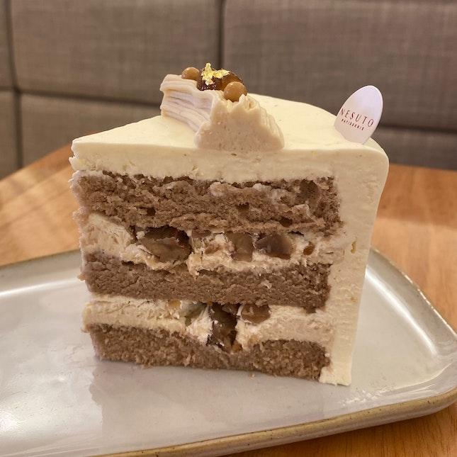 Chestnut Cake ($10.80)