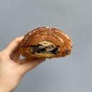 Black Sesame Nian Hao Croissant ($5)