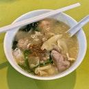 Signature Mee Hoon Kueh Soup ($5)