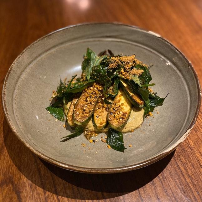 Charred Zucchini ($22)