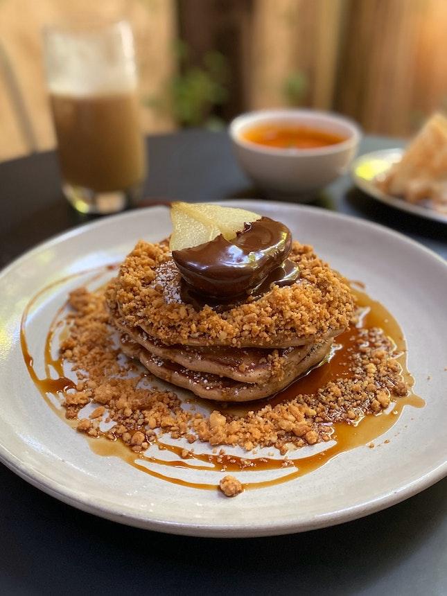 Earl Grey Pancakes ($19)