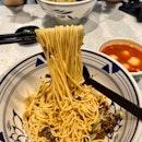 Vinaigrette Ebiko Prawn Paste Dry Noodle ($13.90)