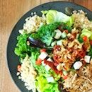 Super Salad With Pulled Pork