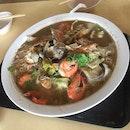 Seafood Bee Hoon Soup