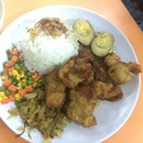 Fried Fish Fillet Rice