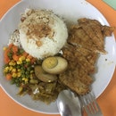 Fried Pork Chop Rice
