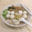 Fish Ball Mee Pok