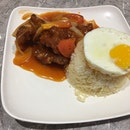 Chop Chop Rice Plate