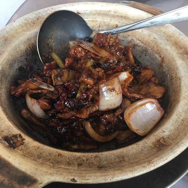 Salted Fish Pork Belly