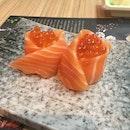 Salmon & Salmon Roe Roll