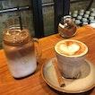 Chai Latte & Iced Coconut Latte