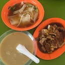 Kway Chap With Dessert