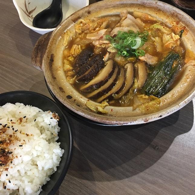 Buta Kimuchi Nabe