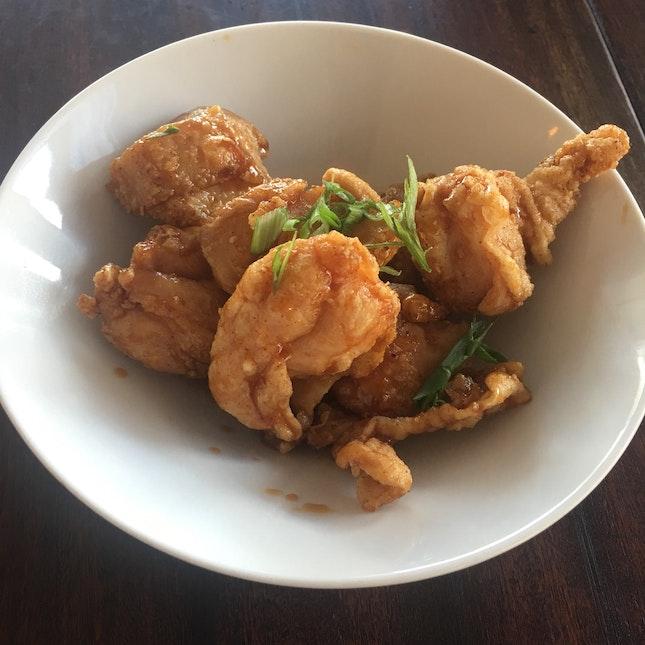 Honey Soy Fried Chicken