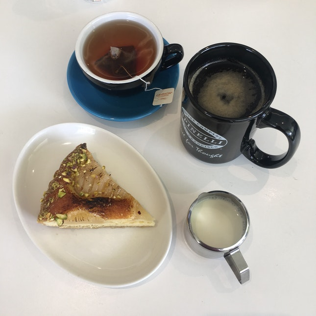 Tart & Coffee/Tea